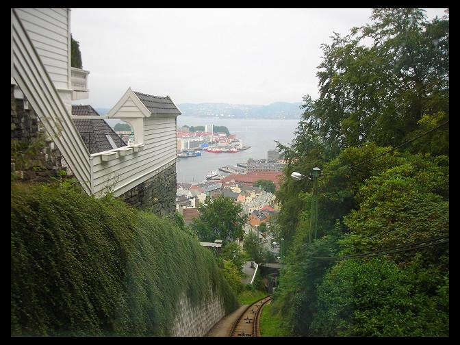 August 6, 2007 - Fløyen funicular