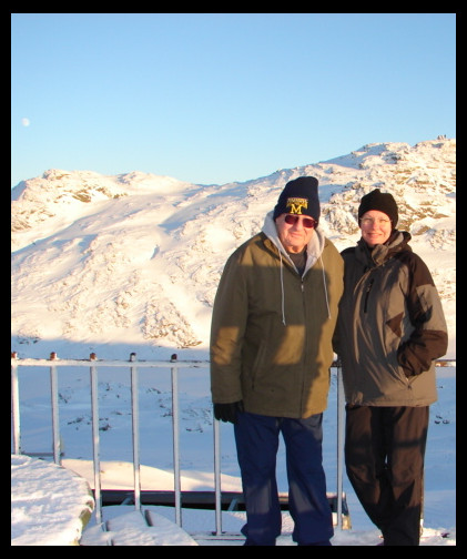 Dad, me, and an Ulriken moon – December 29, 2009, 2:29 pm