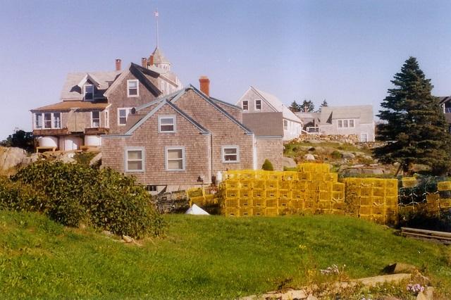 Monhegan Island houses