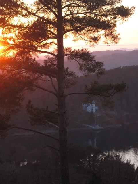April 13th sunset over Lysøen