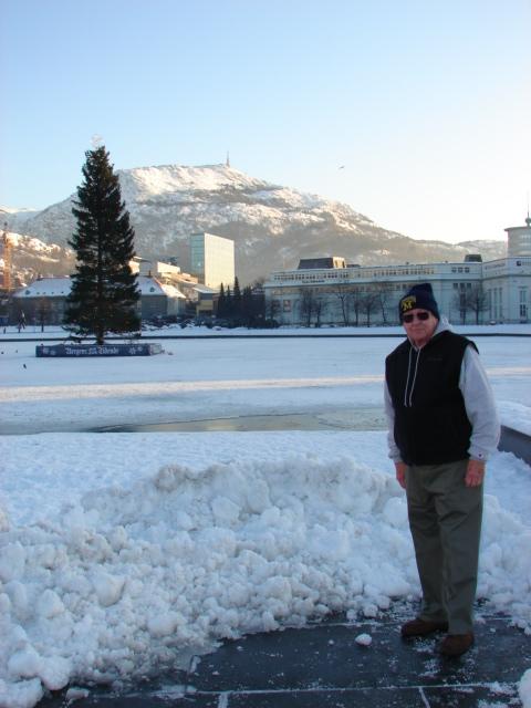 Dad in Bergen Sentrum