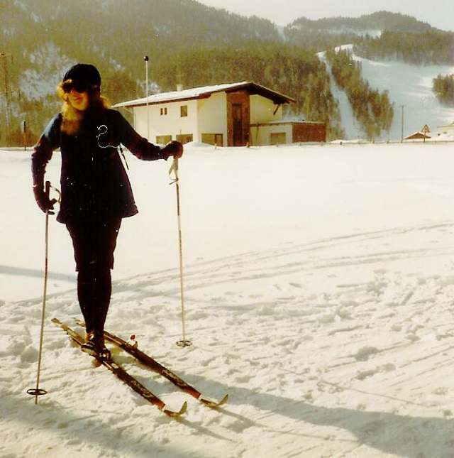 cross country skiing in Garmisch