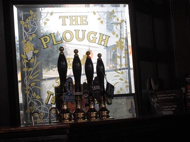 The Plough pub interior