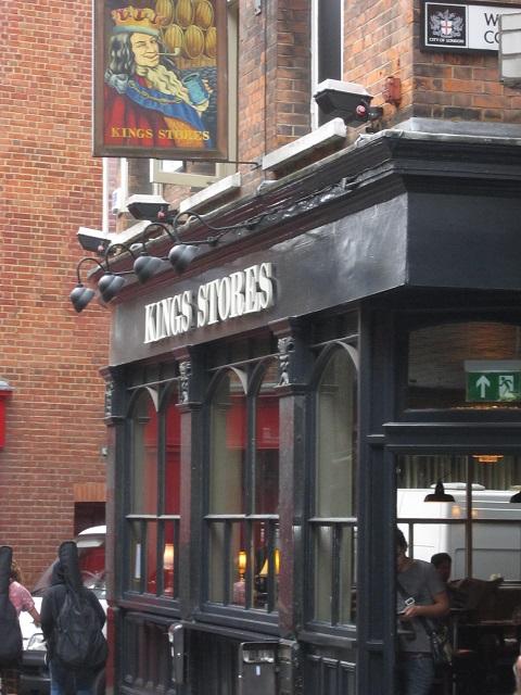 Kings Stores pub facade