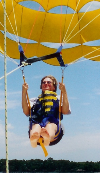 parasailing in Hilton Head