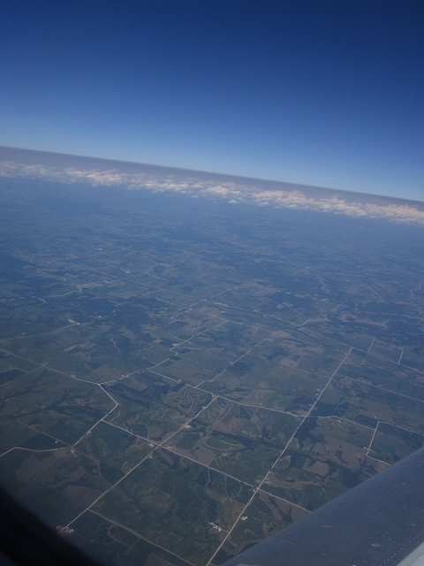 Iowa from the air