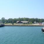 arriving at Washington Island