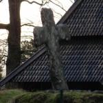 Fantoft Stave Church in Bergen