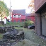 behind Bryggens Museum