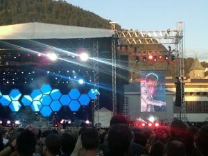 Muse performing at Koengen