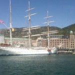 June 6, 2010 - arriving in Bergen