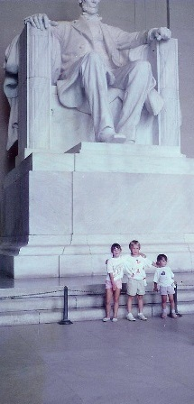 July 1989 - Lincoln Memorial