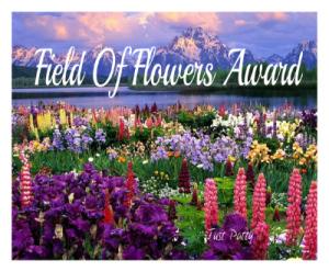 Field of Flowers award