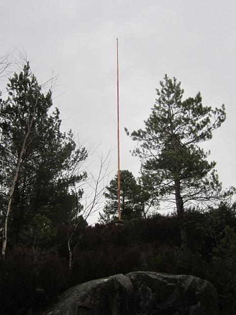 March 2014 abandoned flag pole