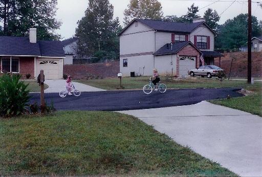 Summer 1990 - Rex, Georgia