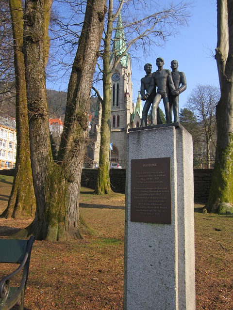 March 30, 2014 - monument in Sandviken