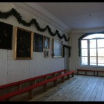 """The room where Norway's constitution was made in the spring of 1814; after restoration before 2014."""