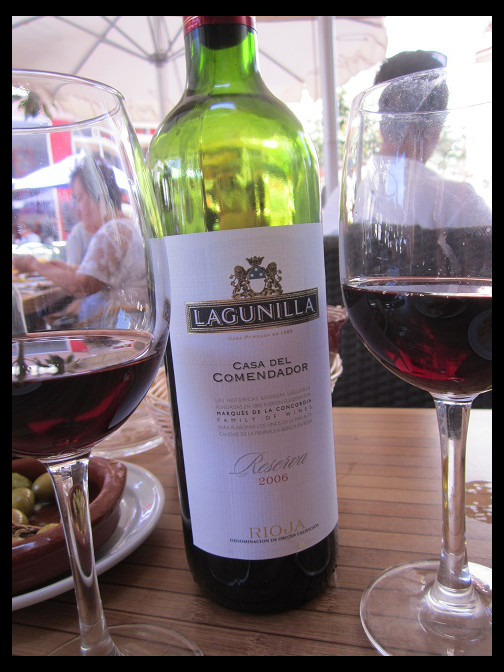 August 10, 2014 - Spanish food at La Venencia, Marbella