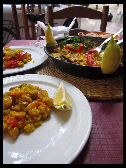 August 12, 2014 - Spanish food in Marbella