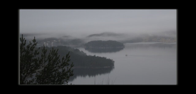 Wordless Wednesday: foggy fjord
